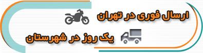 ارسال در تهران و شهرستان